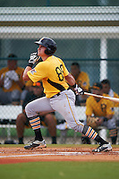 Pittsburgh Pirates Reese McGuire (89) during an instructional league intrasquad black and gold game on September 18, 2015 at Pirate City in Bradenton, Florida.  (Mike Janes/Four Seam Images)