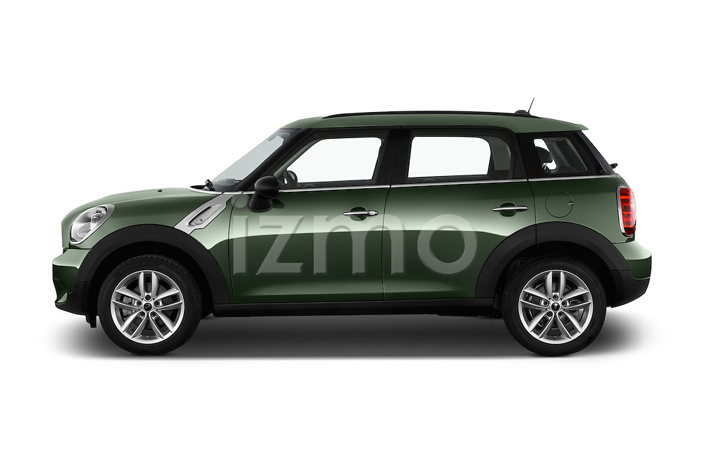Car Driver side profile view of a 2016 MINI Countryman One 5 Door Hatchback Side View