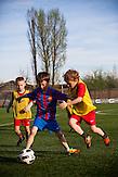 FCB-Fußallschule in Warschau / FCB football school in Warsaw