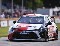 9th July 2021;  Goodwood  House, Chichester, England; Goodwood Festival of Speed; Day Two; Rory Butcher drives a Toyotal Corolla BTCC in the Goodwood Hill Climb