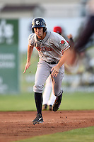 Connecticut Tigers outfielder Ben Verlander (22) running the bases during a game against the Batavia Muckdogs on July 21, 2014 at Dwyer Stadium in Batavia, New York.  Connecticut defeated Batavia 12-3.  (Mike Janes/Four Seam Images)