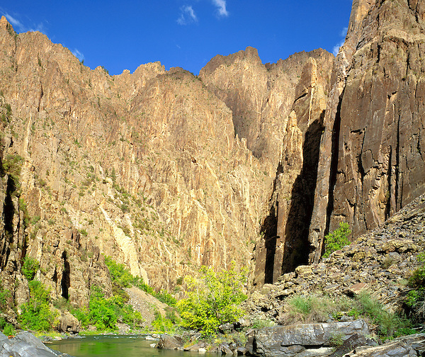 Gunnison River in Black Canyon of the Gunnison National Park, Gunnison, Colorado, USA John leads private photo tours throughout Colorado, year-round. .  John offers private photo tours and workshops throughout Colorado. Year-round.