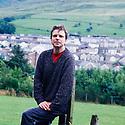 Community Nurse Steven Wride  in Llanbradach in South Wales  CREDIT Geraint Lewis