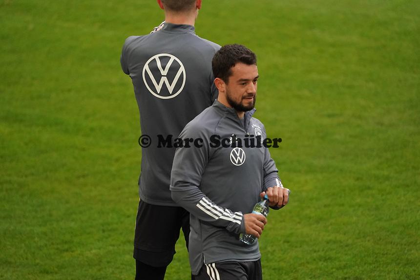 Amin Younes (Deutschland Germany) - 23.03.2021: Training der Deutschen Nationalmannschaft vor dem WM-Qualifikationsspiel gegen Island, Merkus Spiel Arena Duesseldorf