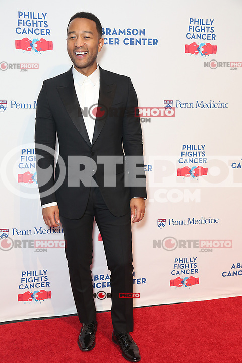 PHILADELPHIA, PA - OCTOBER 28: John Legend pictured backstage  at Philly Fights Cancer round 3 at The Navy Yard in Philadelphia, Pa on October 28, 2017  Credit: Star Shooter/MediaPunch /NortePhoto.com
