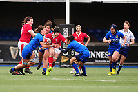 Bethan Lewis of Wales in action during the Women's six nations championship match between the Wales and Italy at Cardiff Arms Park in Cardiff, Wales, UK. Sunday 02 February 2020