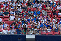 Nashville, TN - Saturday July 08, 2017: USA Fans  during a 2017 Gold Cup match between the men's national teams of the United States (USA) and Panama (PAN) at Nissan Stadium.