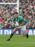 Saturday 10th March 2018 |  Ireland vs Scotland<br /> <br /> Rob Kearney during the NatWest 6 Nations clash between Ireland and Scotland at the Aviva Stadium, Lansdowne Road, Dublin, Ireland. Photo by John Dickson / DICKSONDIGITAL