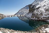Chasm Lake, Long's Peak, Rocky Mountain National Park
