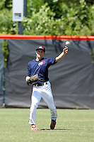 July 4, 2009:  Corey Hahn, one of many top prospects in action, taking part in the World Wood Bat Association National Championships at East Cobb Baseball Fields in Greater Atlanta, GA.  Photo By David Stoner / Four Seam Images