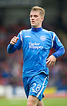 St Johnstone v Rangers....05.04.11 .New signing Jordan Robertson.Picture by Graeme Hart..Copyright Perthshire Picture Agency.Tel: 01738 623350  Mobile: 07990 594431