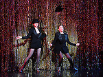 Bebe Neuwirth and Ann Reinking during the landmark performance of 'Chicago' as it becomes the 2nd longest show in Broadway History at the Ambassador Theatre on November 23, 2014 in New York City.
