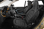 Front seat view of 2020 Smart EQ-fortwo Comfort-Plus 2 Door Convertible Front Seat  car photos