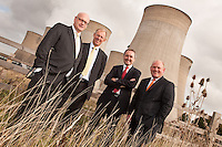 Pictured from left: Mark Rutherford, partner, HBJ-Gateley Wareing, Steve Stout, HSBC senior corporate banking manager, Neil Meredith, partner KPMG and David Hayle, MD of PJD Group Ltd