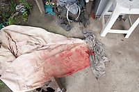 Barcarena. Pará. Brasil. Cidades. Homicidio Barcarena - Paulo Sérgio Almeida do Nascimento. 12-03-18. Fotos: Maycon Nunes