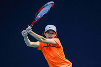 Hilversum, Netherlands, December 3, 2017, Winter Youth Circuit Masters, 12,14,and 16 years, Floor van Nunen (NED)<br /> Photo: Tennisimages/Henk Koster