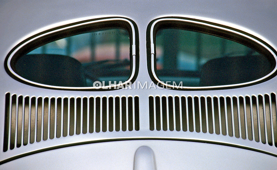 Detalhes de carros antigos, SP. Foto de Juca Martins.