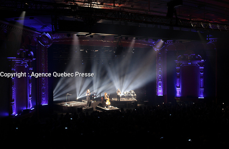 French Trio LEJ perform at the Olympia in Montreal, March 14, 2016.<br /> <br /> Photo : Pierre Roussel  - Agence Quebec Presse