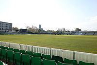 General view of the ground prior to  Worcestershire CCC vs Essex CCC, LV Insurance County Championship Group 1 Cricket at New Road on 29th April 2021