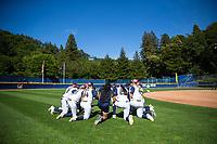 Cal Softball vs Washington, April 28, 2017