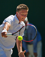 England, London, 28.06.2014. Tennis, Wimbledon, AELTC, Tim van Rijthoven (NED<br /> Photo: Tennisimages/Henk Koster