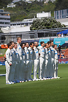 during day one of the International Test Cricket match between the New Zealand Black Caps and West Indies at the Basin Reserve in Wellington, New Zealand on Friday, 11 December 2020. Photo: Dave Lintott / lintottphoto.co.nz