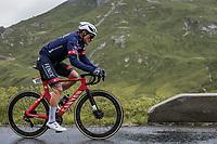 Silvan Dillier (SUI/Alpecin-Fenix) up the Cormet de Roselend<br /> <br /> Stage 9 from Cluses to Tignes (144.9km)<br /> 108th Tour de France 2021 (2.UWT)<br /> <br /> ©kramon