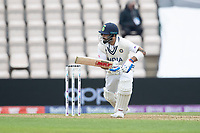 Virat Kohli, India pushes into the off side during India vs New Zealand, ICC World Test Championship Final Cricket at The Hampshire Bowl on 19th June 2021