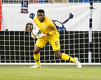 KANSAS CITY, KS - JUNE 26: Sean Johnson #12 during a game between Panama and USMNT at Children's Mercy Park on June 26, 2019 in Kansas City, Kansas.