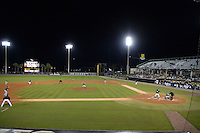 General view of the opening game of the season between the Siena Saints and UCF Knights on February 13, 2015 at Jay Bergman Field in Orlando, Florida.  UCF defeated Siena 4-1.  (Mike Janes/Four Seam Images)