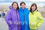 Volunteers at the Banna clean up on Thursday, l to r: Hazel McMahon, Samantha Sheehan and Ann Curtin.