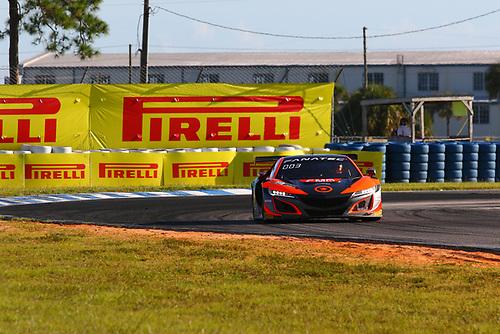Compass Racing Acura NSX GT3 Evo:Rodrigo Sales