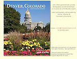 """John has a long history in Denver and was excited to be asked to photograph this  hardcover book on Denver. John's 5th book: """"Denver, Colorado: A Photographic Portrait""""<br /> John offers guided tours of Denver and surrounding mountains.<br /> Click the above CONTACT button for inquiries."""