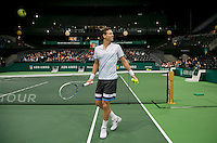 13-02-14, Netherlands,Rotterdam,Ahoy, ABNAMROWTT, Tomas Berdych(TSJ)<br /> Photo:Tennisimages/Henk Koster
