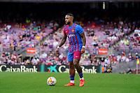 29th August 2021; Nou Camp, Barcelona, Spain; La Liga football league, FC Barcelona versus Getafe; Memphis Depay of Barca