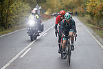 Maximilian Schachmann (GER) Bora-Hansgrohe during Stage 17 of the Vuelta Espana 2020, running 178.2km from Sequeros to Alto de la Covatilla, Spain. 7th November 2020. <br /> Picture: Bora-Hansgrohe/Luis Angel Gomez/BettiniPhoto | Cyclefile<br /> <br /> All photos usage must carry mandatory copyright credit (© Cyclefile | Bora-Hansgrohe/Luis Angel Gomez/BettiniPhoto)