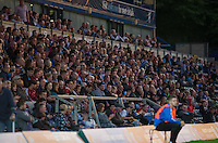 The Wycombe Support during the Capital One Cup match between Wycombe Wanderers and Fulham at Adams Park, High Wycombe, England on 11 August 2015. Photo by Andy Rowland.