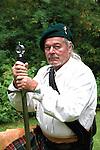 Scottish man dressed in a Kilt HDR
