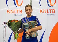 March 15, 2015, Netherlands, Rotterdam, TC Victoria, NOJK, Winner boys 14 years Lodewijk Westrate<br /> Photo: Tennisimages/Henk Koster