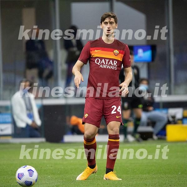 inter-roma - milano 12 maggio 2021 - 36° giornata Campionato Serie A - nella foto: kumbulla