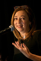 Susan Cain at the 2Coaching in Leadership and Healthcare Conference by the Institute of Coaching and Harvard Medical School at the Renaissance Hotel Boston MA October 13 and 14, 2017