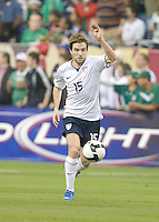 Bobby Convey runs with the ball. USA and Mexico tied, 2-2, in an international friendly at Reliant Stadium, Houston, Texas on February 6, 2008.