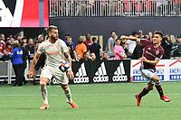 Atlanta, GA - Saturday April 27, 2019: Atlanta United defeated the Colorado Rapids 1-0 in a Major League Soccer (MLS) game at Mercedes-Benz Stadium.