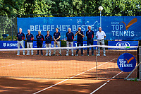 Hilversum, Netherlands, Juli 29, 2019, Tulip Tennis center, National Junior Tennis Championships 12 and 14 years, NJK, Opening<br /> Photo: Tennisimages/Henk Koster