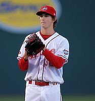 Pitcher Henry Owens (32) of the Greenville Drive in a game against the Lakewood BlueClaws on April 7, 2012, at Fluor Field at the West End in Greenville, South Carolina. Owens was a supplemental round pick by the Boston Red Sox in the 2011 First-Year Player Draft. (Tom Priddy/Four Seam Images)
