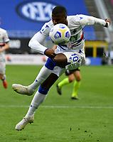 Sampdoria's Keita Balde kicks the ball during the Italian Serie A football match between Inter Milan and Sampdoria at Milan's Giuseppe Meazza stadium, May 8, 2021.<br /> UPDATE IMAGES PRESS/Isabella Bonotto