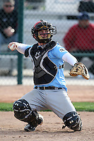 January 17, 2010:  James Weaver (Hephzibah, GA) of the Baseball Factory Coastal Team during the 2010 Under Armour Pre-Season All-America Tournament at Kino Sports Complex in Tucson, AZ.  Photo By Mike Janes/Four Seam Images