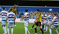 William Troost-Ekong of Watford header goes wide during Queens Park Rangers vs Watford, Sky Bet EFL Championship Football at The Kiyan Prince Foundation Stadium on 21st November 2020