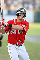 July 28th 2007:  Collin Cowgill during the Cape Cod League All-Star Game at Spillane Field in Wareham, MA.  Photo by Mike Janes/Four Seam Images