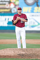 July 4, 2009: Yakima Bears pitcher Ben Dollar throws in relief during a Northwest League game against the Everett AquaSox at Everett Memorial Stadium in Everett, Washington.
